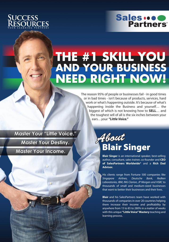 Blair Singer_Sales & Leadership Mastery on 19-20 July 2013 at Singapore